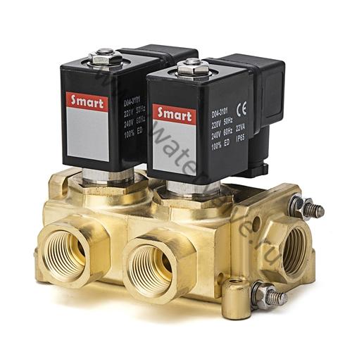 """Клапан электромагнитный SMART SM88632 DN10 G1/2"""" 2хG1/2"""""""